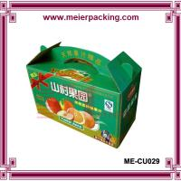 Quality Wholesale corrugated fresh vegetable packaging carton ME-CU029 for sale