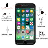 Quality High Definition 2.5 D Tempered Glass Screen Protector Bubble Free For IPhone for sale
