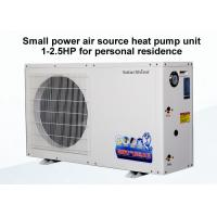 Quality 50 / 60 Hz Commercial Air Source Heat Pump , Air Energy Heat Pumps Unit for sale