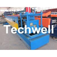 Quality Z Channel / Section / Profile Cold Roll Forming Machine For 80 - 300 Width Z Channel for sale