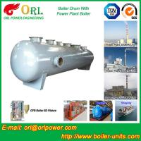 Buy Corrosion resistance oil steam boiler mud drum ISO9001 at wholesale prices