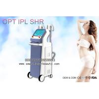 Buy cheap 2 Handpieces OPT IPL Hair Removal Machine / Efficient IPL SHR Super Hair Removal from wholesalers