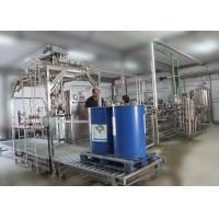 Quality Juice Pulps Puree Aseptic Bag in Drum Filling Machine Single Head 3-4 Tons per Hour for sale
