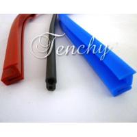 Quality Solid Silicone Rubber Seal Extrusion Profiles For Heat Resistant Weather Stripping for sale