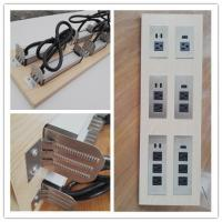 Quality Multifunctional Furniture Power Outlet , Universal AC Desktop Electrical Outlet With USB Port for sale