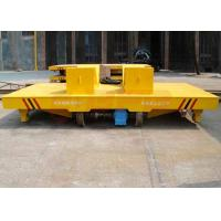 Quality Industrial heavy load steel coil rail transport trolley for aluminum factory apply for sale