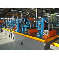 Quality Steel ERW Pipe Mill / Straight Seam Welded Pipe Production Line for sale