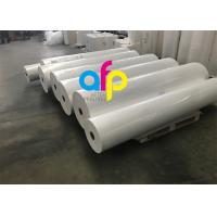 Buy High Grade Matte Film Lamination , White Bopp Thermal Film For Paper / at wholesale prices