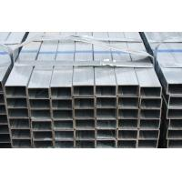 Quality Q235 / Q345 Hot Dipped Galvanized Steel Square Tube For Bridge , Roof Construction for sale