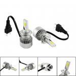 Auto Spare Parts Bright COB LED Headlight Bulbs 880 881 H4 H7 LED Car Headlight