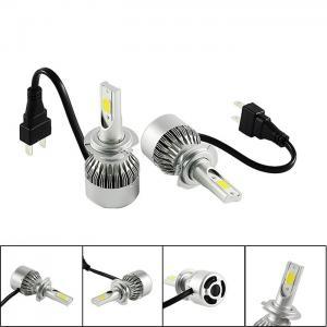 Buy Auto Spare Parts Bright COB LED Headlight Bulbs 880 881 H4 H7 LED Car Headlight at wholesale prices