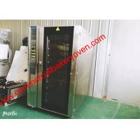 China Convection Hot Air Baking Oven Big Glass Door Digital Control With Steam for sale