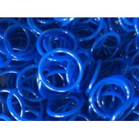 Quality Elastomeric Blue Round Rubber Rings 60 Shore With Low Temperature Resistance for sale