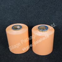 Quality Orange colored Film,silage wrap film, 250mm*25mic*1800m,grass packing Film,LLDPE plastic film for sale