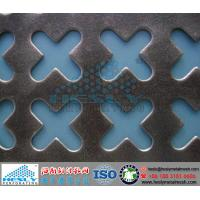 Quality Crisscross Perforated Metal Sheets, Cross Punching Metal for sale