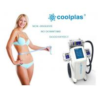 Quality Non Surgical Cryolipolysis Fat Freezing Machine , Coolplas Cellulite Reduction Machine for sale