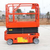 Buy Self Propelled Electric Aerial Reclaimer Norrow 8m For Aerial Working at wholesale prices