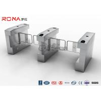 Quality RFID Card Automatic Access Control Turnstile Gate Stainless Steel For Park / Musem for sale