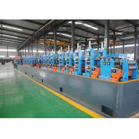 Quality High Performance Carbon Steel ERW Pipe Mill , Steel Pipe Manufacturing Machine for sale