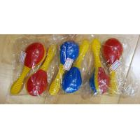 Quality Plastic Toy Music Instrument , Cute Colored Orff Plastic Maracas for sale