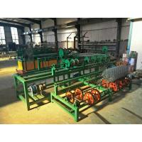 Quality 3 Width singel wire feeding   Full Automatic PLC  Chain Link Fence Machine for sale