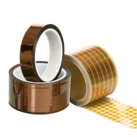 Quality Kaptons Polyimide Film 3D Printer Amber ESD Tapes for sale