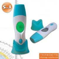 Quality Baby Infrared Thermometer Thermomètre médical infrarouge 5 en 1 empérature auriculaire, frontale, d'un objet ou ambiant for sale