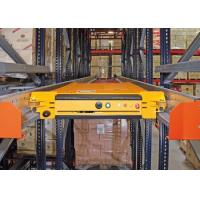 Quality Hot Sale Warehouse Automated Deep Lane Pallet Radio Shuttle Racking System for sale