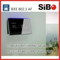 Quality Meeting Room Scheduling 7 Inch Android OS Touch Panel With LED Light for sale