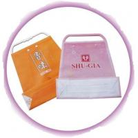 Quality Customized Clothing Plastic Handle Bag Promotion Shopping Bags for sale