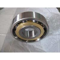 Quality Long life Single Row Angular Contact Ball Bearing With Brass Cage for sale