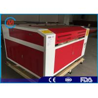 China Red 150W CNC CO2 Laser Engraving Machine , Leadshine Stepper Motor Laser Co2 Engraver on sale