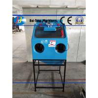Quality Manual Wet Sandblasting Cabinet Power Supply 220V / 50HZ Corrosion Resistant for sale