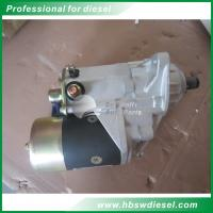 Buy Cummins 6BT5.9 diesel engine 24v motor starter 3957593 = 3922474 228000-6670 generator for Komatsu PC200 excavator at wholesale prices