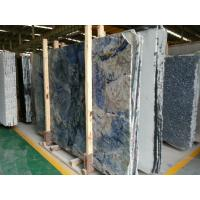 Buy Granite Stone Slab Countertop Blue Bahia Granite Big Slabs Block Commercial at wholesale prices