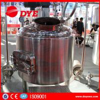 Buy CE Approved Commercial Beer Brewing Equipment Electric / Steam / Directing Hearting at wholesale prices