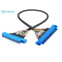 China PCB Slot Solder Custom Cable Assemblies With Plastic / Cooper / Electric Parts on sale