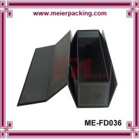 Quality Foldable Rigid Red Wine Packaging Box/Fashion Top Design red wine box ME-FD036 for sale