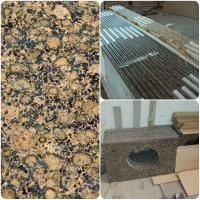 Quality Modern Design Custom Granite Countertops , Brown Granite Bathroom Worktops for sale