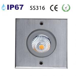 Quality SS316 10w COB led underground light for sale