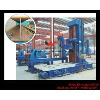 Quality Adjustable Vertical Milling Machine For Box / I Beam End Face Milling In Steel Structure Industry for sale