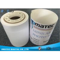 Buy Dry Minilab Photo Paper for Epson , 240gsm Semi Glossy Luster RC Inkjet Photo Paper Roll at wholesale prices