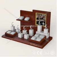 Quality Hot sale wholesale red acrylic jewelry display props, jewelry display stand for sale