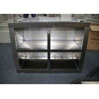 Quality Clean Room Equipment 304 Stainless Steel 1.2mm Shoes Ark Garments Store for sale