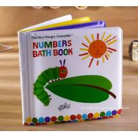Buy cheap Education Soft EVA children's Bath Books Early Number Learning from wholesalers