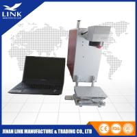 Quality EZCAD Portable Laser Marking Machines Fiber Laser Marker With Alumimum Alloy Table for sale