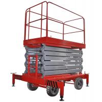 Quality 12 Meters Mobile Scissor Lift Hydraulic X Lift Platform For Work At Height for sale