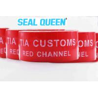 Quality Red Tamper Evident Sealing Warranty VOID OPEN Tape Transfer Security Seal Tape for sale