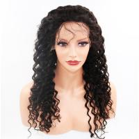 100% Real Glueless Full Lace Wigs Full Density Natural Color #1B