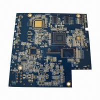 Quality 4-layer PCB with Gold Immersion for sale